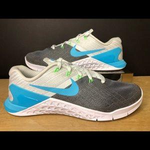 Nike Metcon 3 Blue Fury Size Mens 6 WMNS 7.5